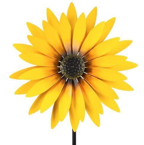 sunflower wind spinner