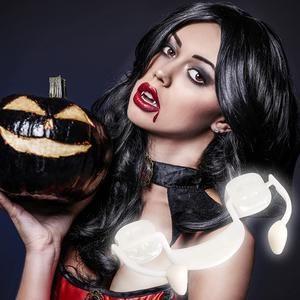 Retractable Halloween Vampire Fang