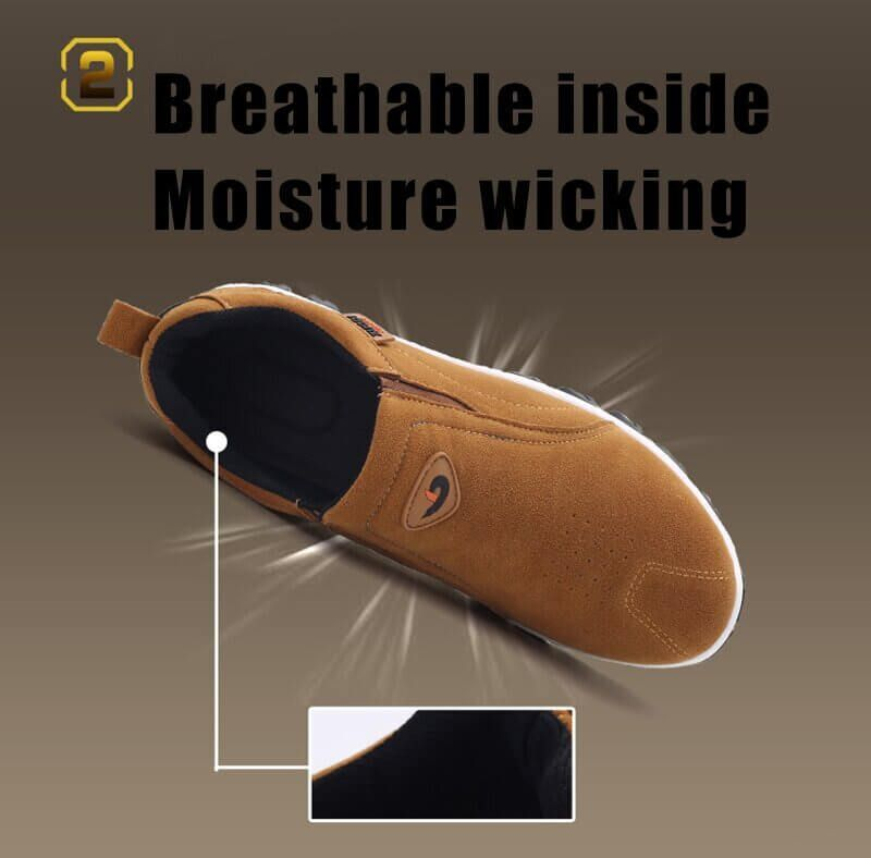 Kafa Men Arch Support Breathable Lightweight Shoes