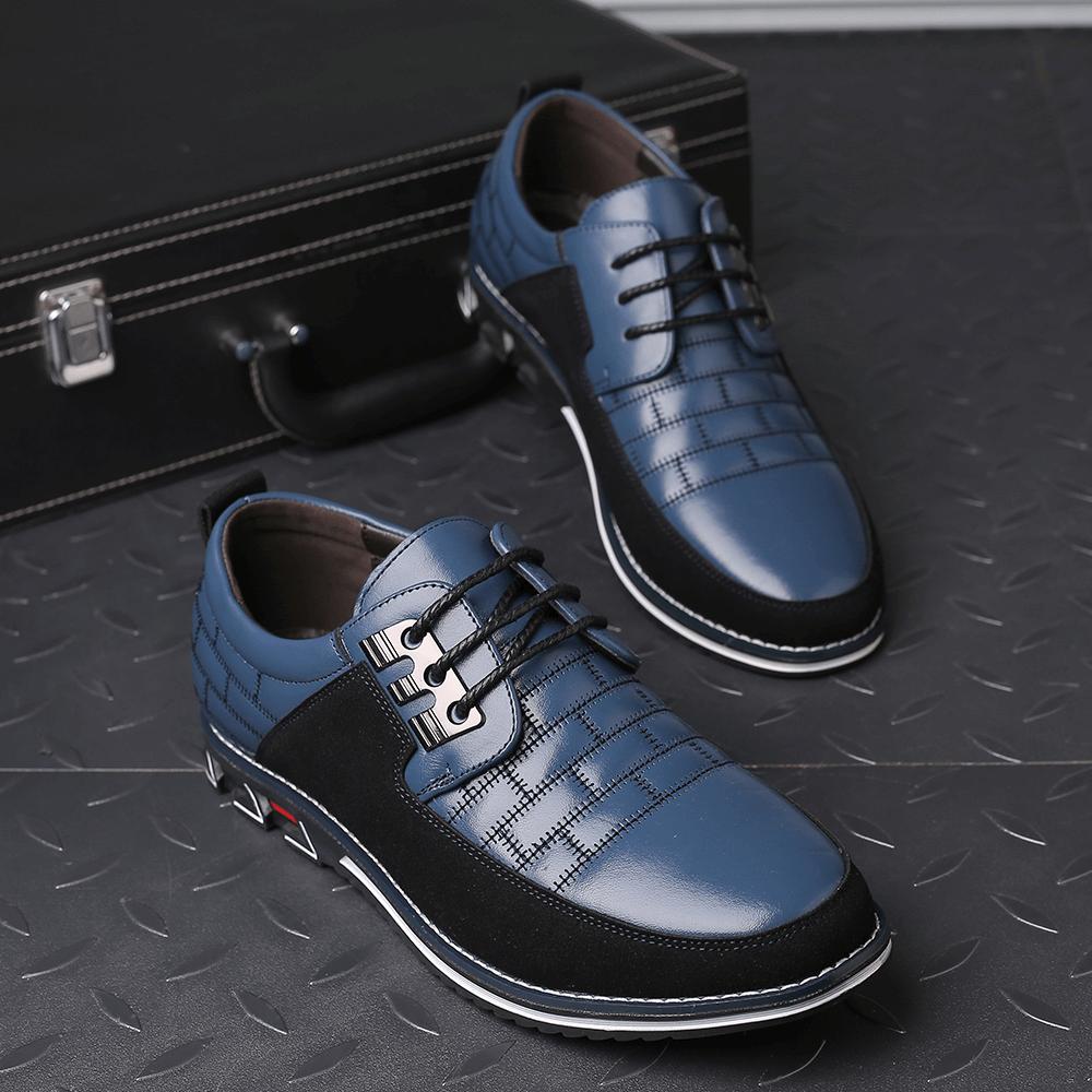 Caelan Oxford Orthopedic Leather Shoes