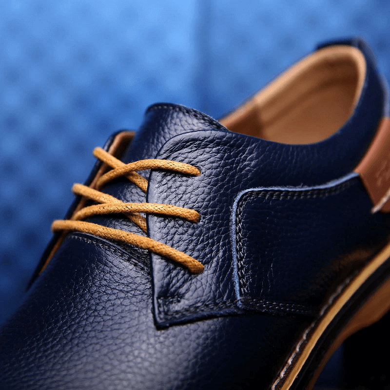 Caelan Oxford Men Leather Dress Shoes